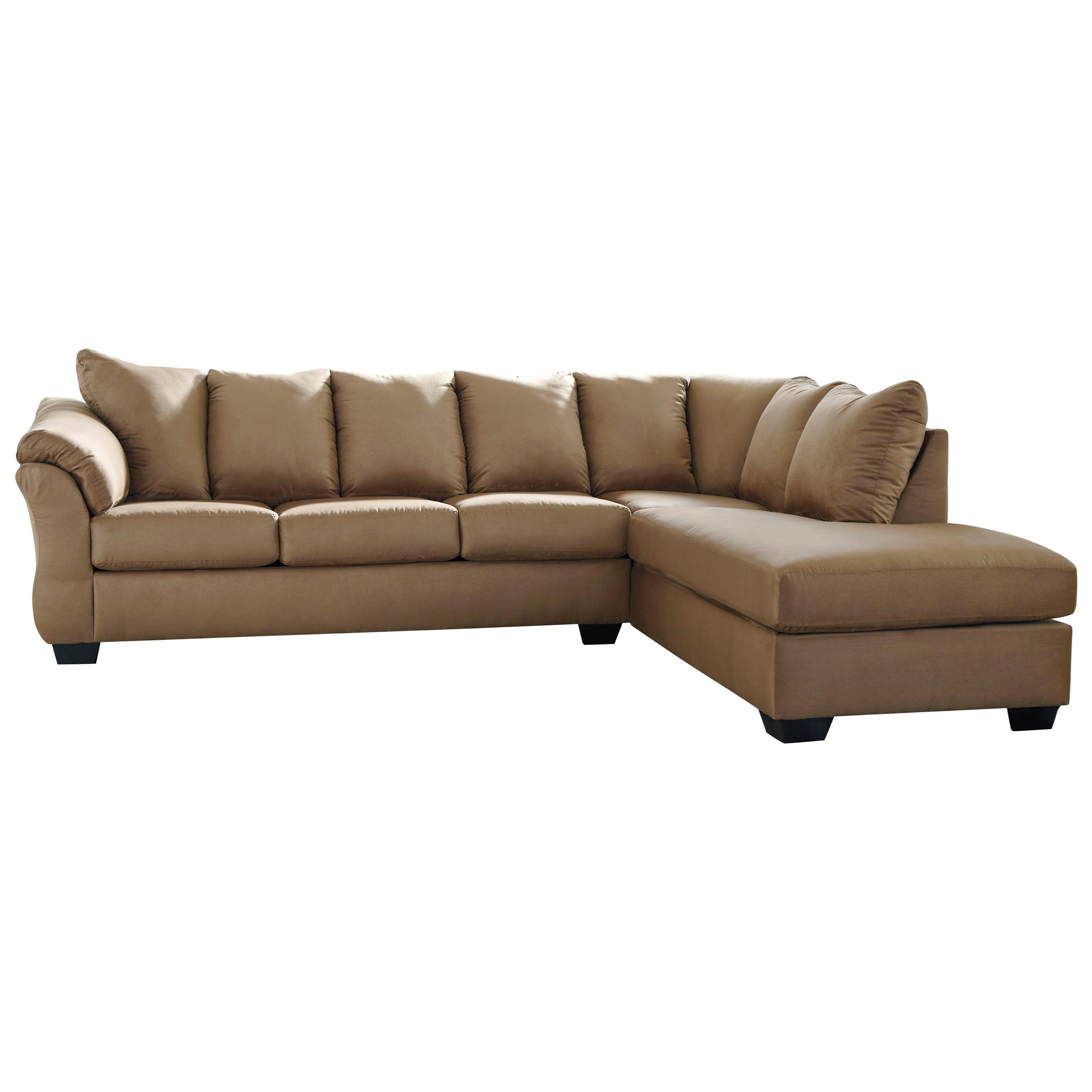 Darcy Mocha 2 Piece Sectional Sofa