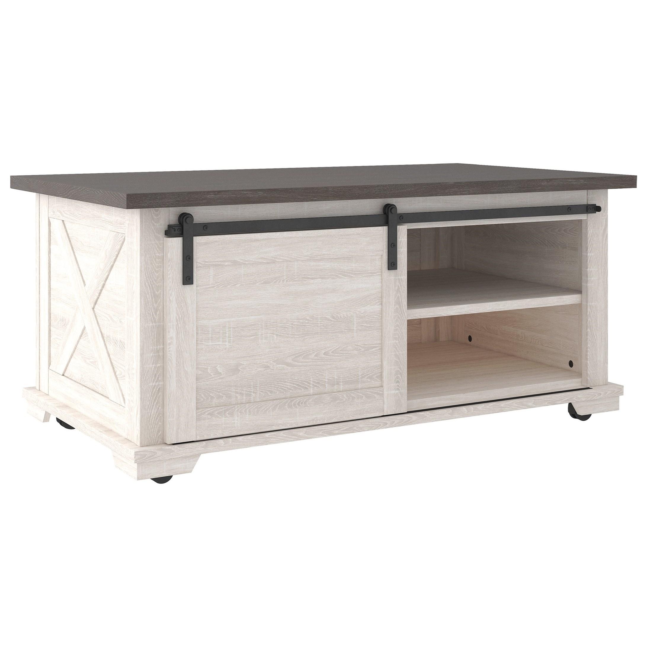 dorrinson rectangular cocktail table