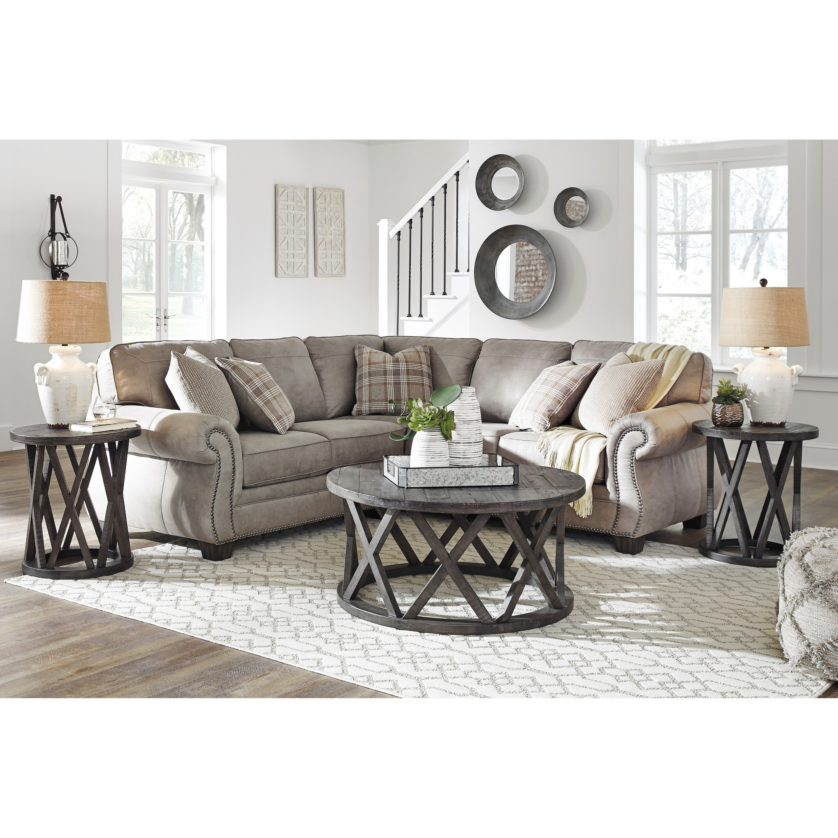 olsberg 2 piece sectional