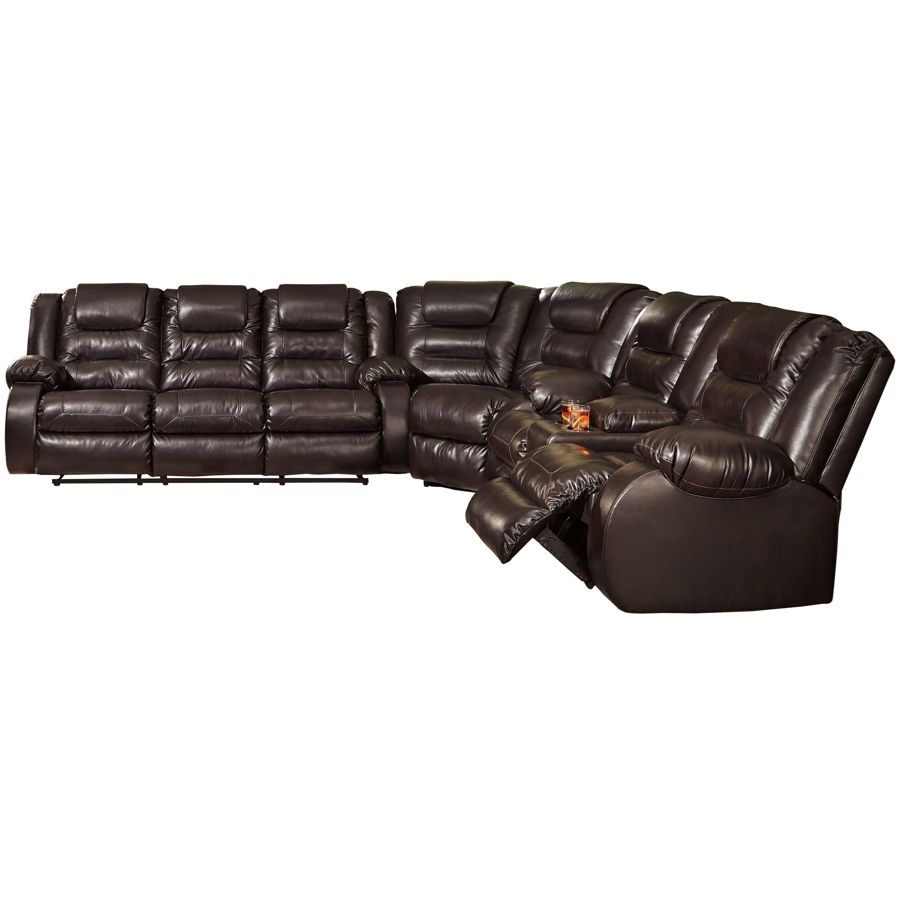 Vacherie Reclining Sectional Sofa