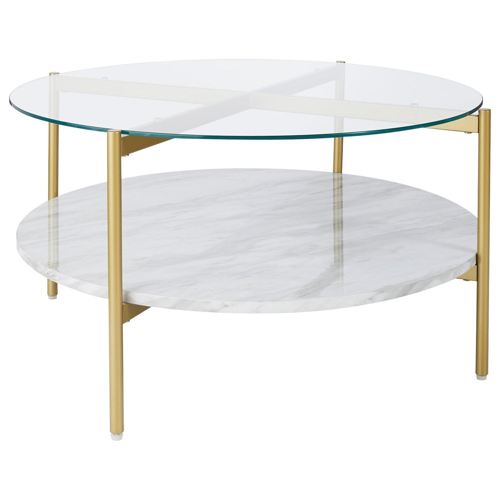wynora round cocktail table