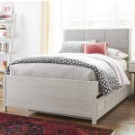 Smartstuff Modern Spirit Contemporary Full Size Trundle Bed With Upholstered Headboard And Built In Reading Light Reeds Furniture Upholstered Beds