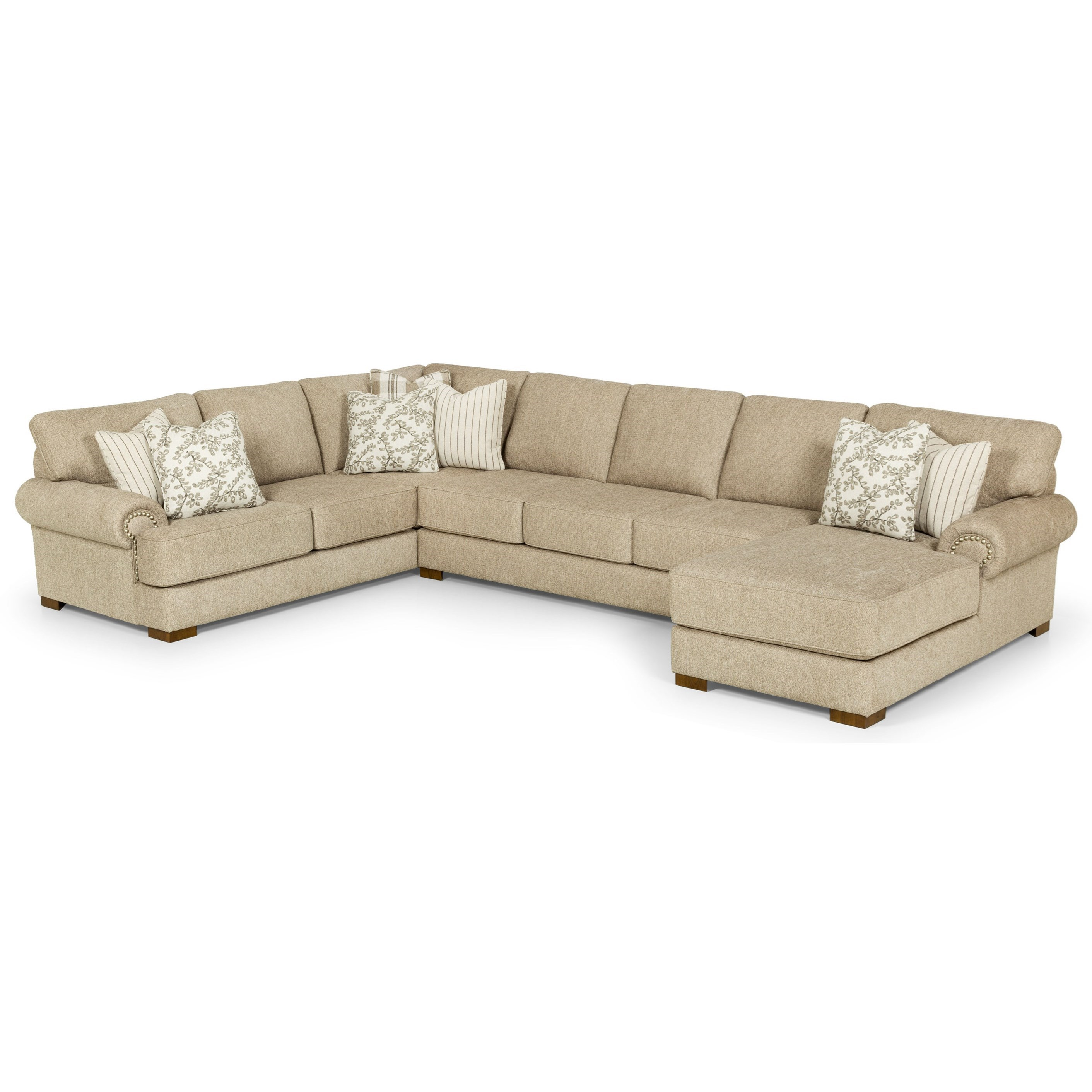 6 seat sectional sofa with raf chaise