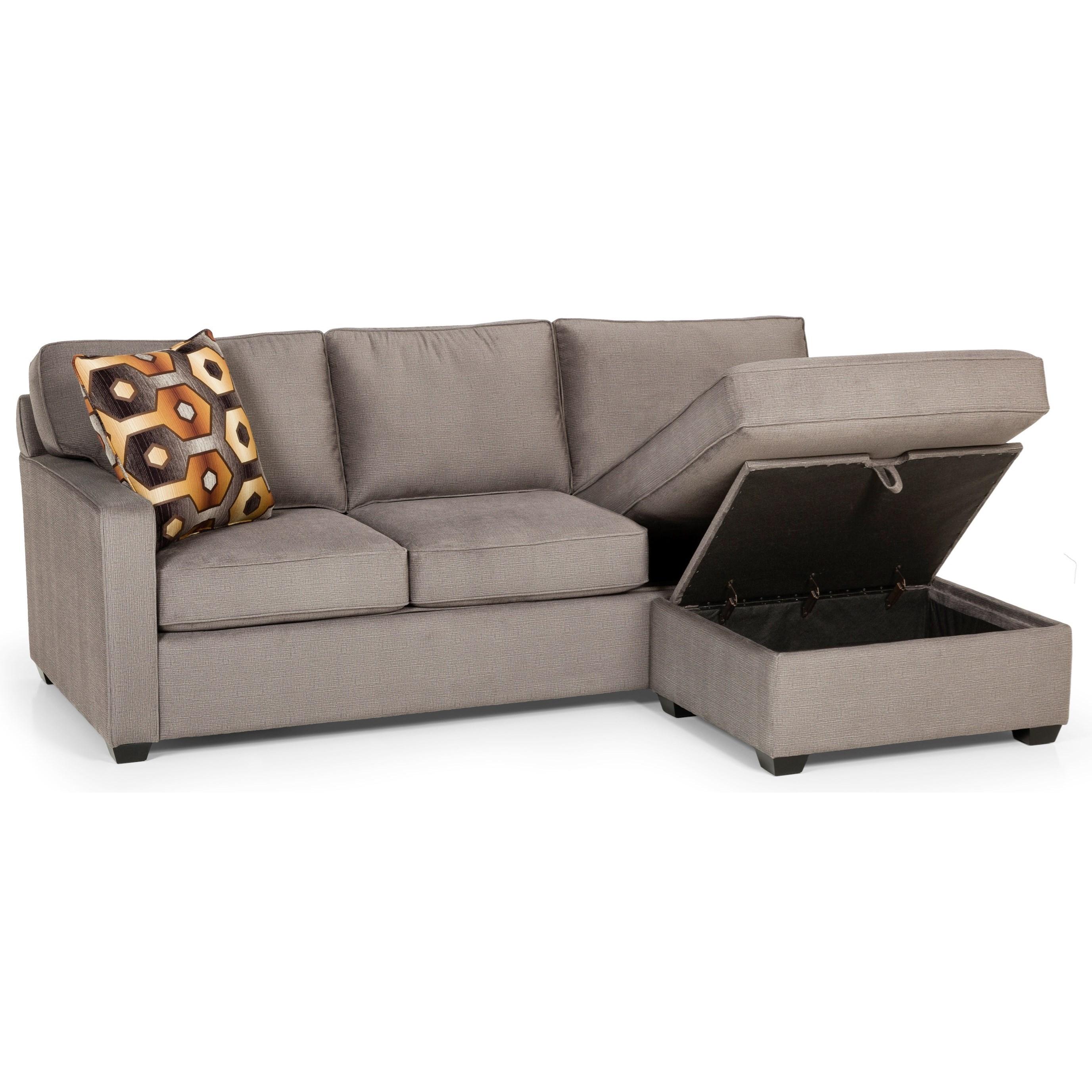 casual sofa chaise queen gel sleeper