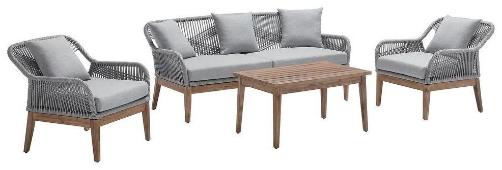 patio furniture 4 pc patio set by wayside furniture at wayside furniture