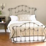Wesley Allen Iron Beds Queen Complete Hamilton Headboard And Footboard Bed Howell Furniture Panel Beds