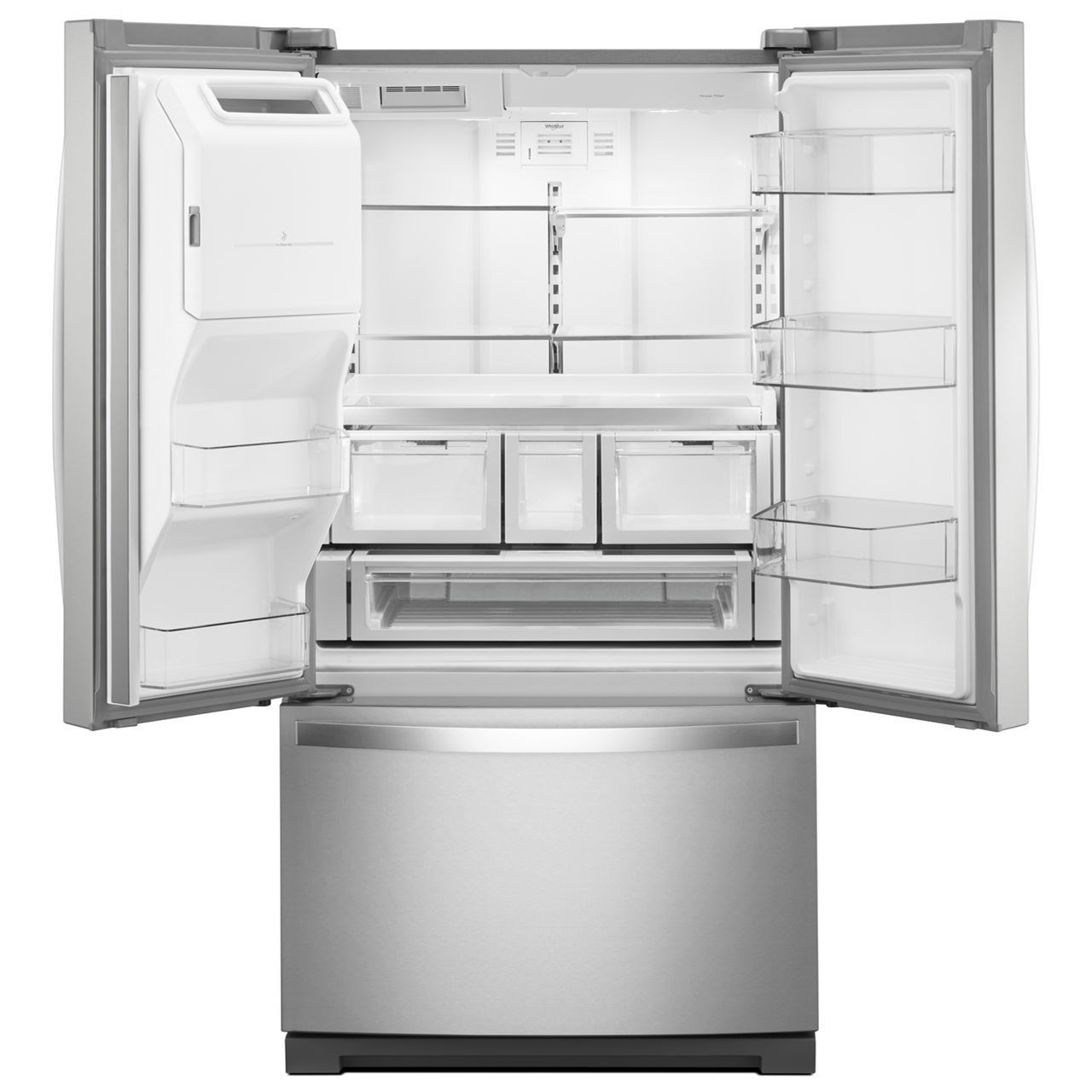 french door refrigerators 27 cu ft french door refrigerator