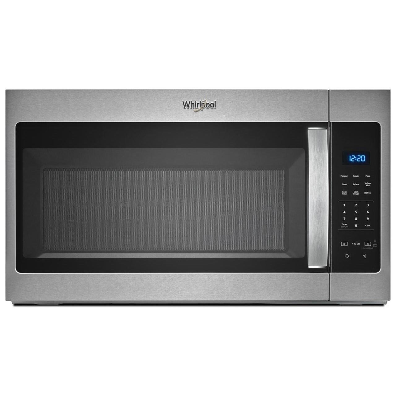 microwaves whirlpool 1 7 cu ft microwave hood combination with electronic touch controls by whirlpool at furniture and appliancemart