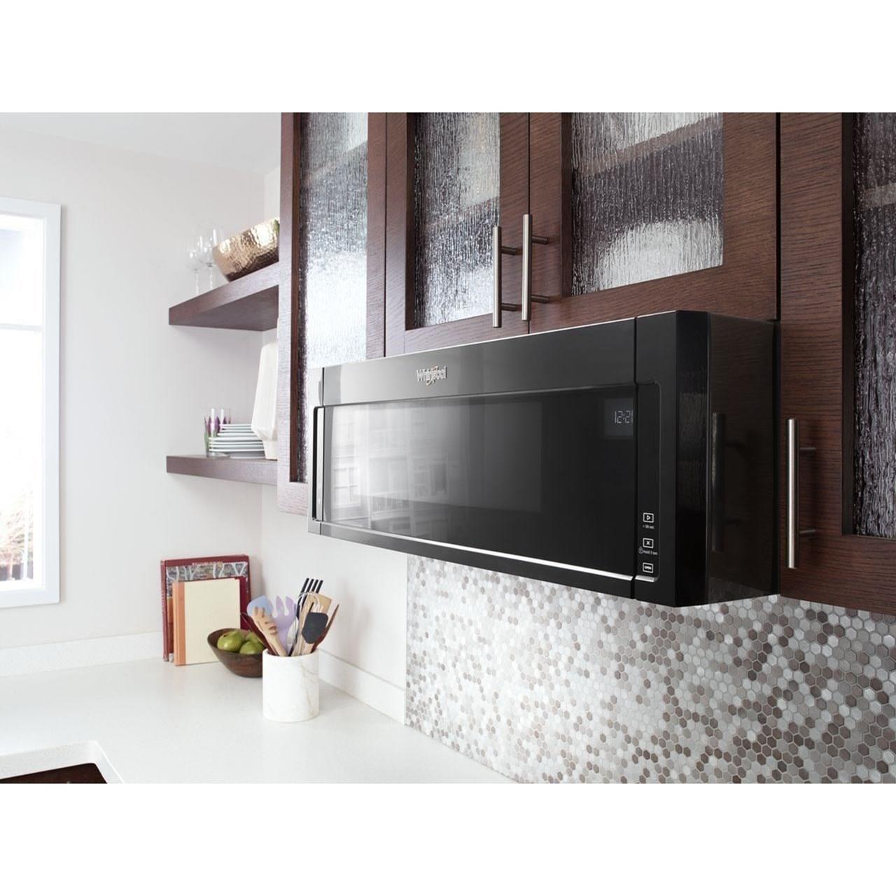 microwaves whirlpool 1 1 cu ft low profile microwave hood combi