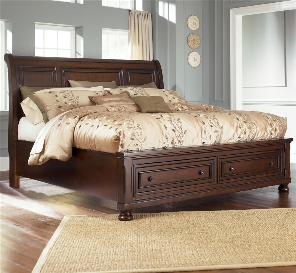 Ashley Furniture Porter King Storage Bed Queen Size 699
