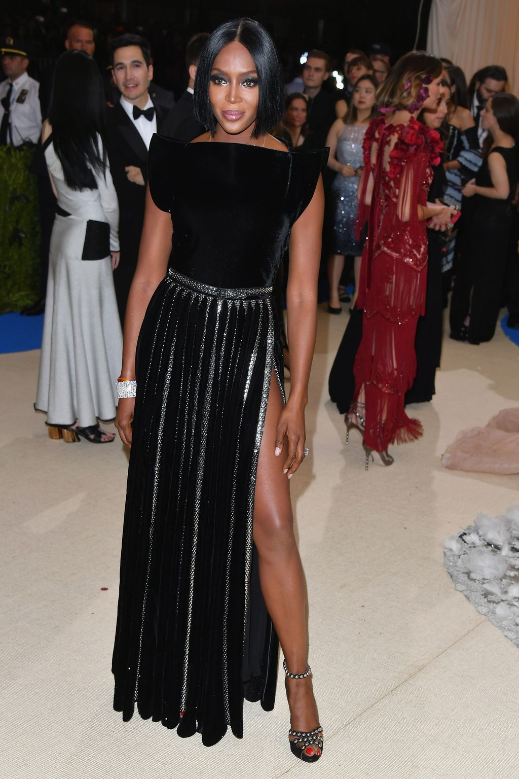 Image result for naomi campbell met gala 2017