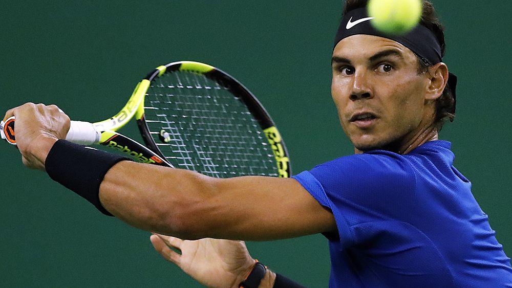 Резултат со слика за Rafael Nadal loses at Kooyong but passes Australian Open test