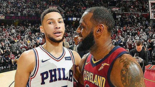 Image result for ben simmons and lebron