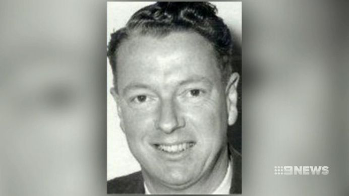 "Harry Phipps became known as the ""Satin Man"". (9NEWS)"