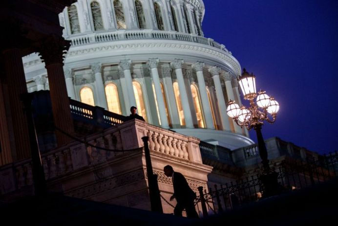 The whole exercise provided yet another embarrassing example of a dysfunctional government in Washington. (Getty Images)