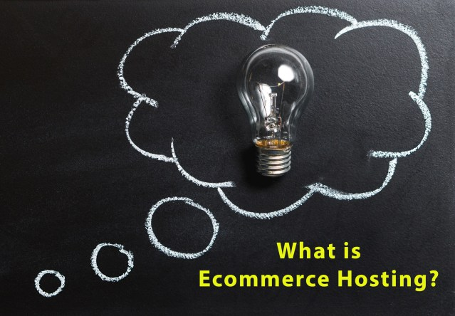 what is ecommerce website hosting
