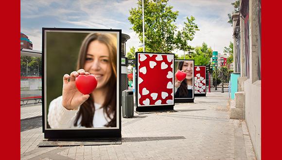 Advertising photo retouching