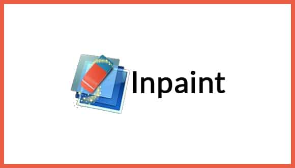 Inpaint is a software product for Microsoft Windows. also image restoration.