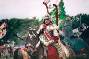 The Polish Winged Hussar Battle of Klushino 1610 - reenacting in 2010 Warsaw / Poland