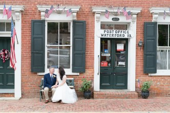 Bride and groom photographed during a Loudoun County wedding by Erin Julius of Imagery by Erin.