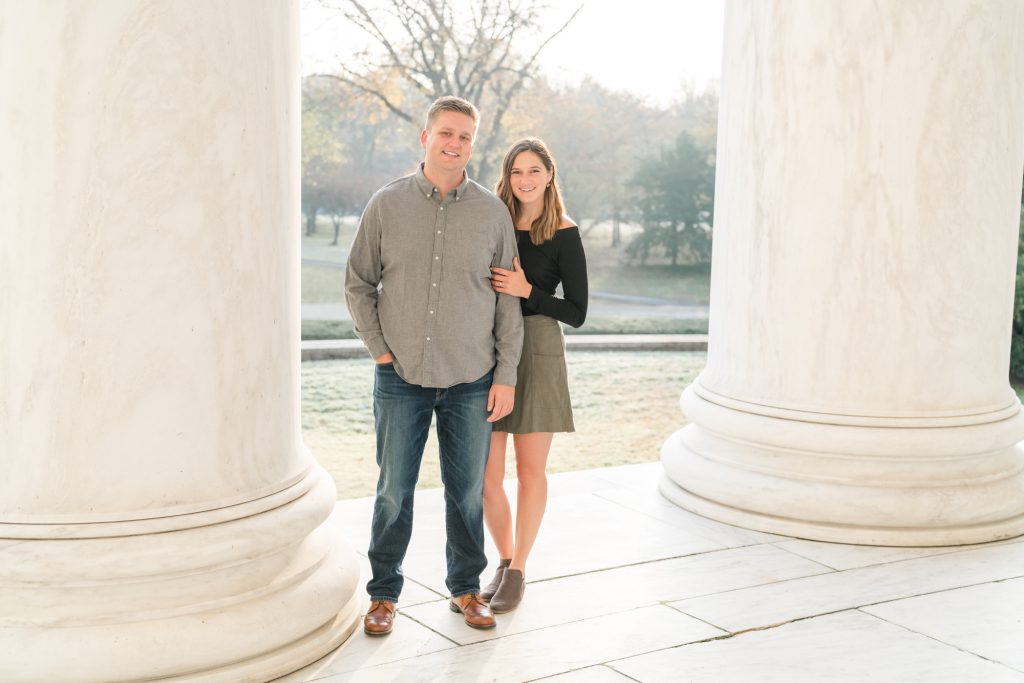 Engagement photos DC