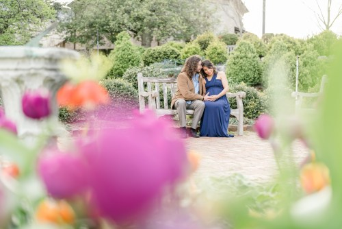 Bishop's Garden maternity photographer