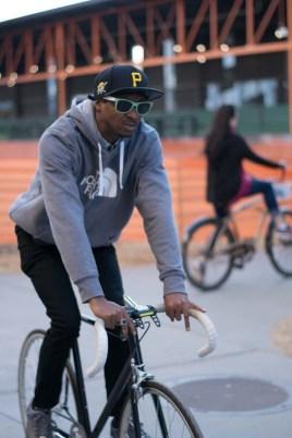 A Biker on Atlanta's Beltline