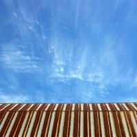 Barn Roof and Sky