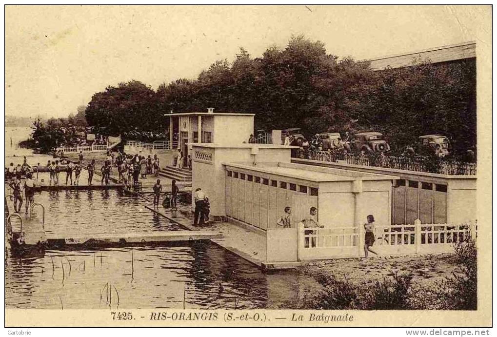 Ris Orangis - Delcampe.fr - Une vue d'époque