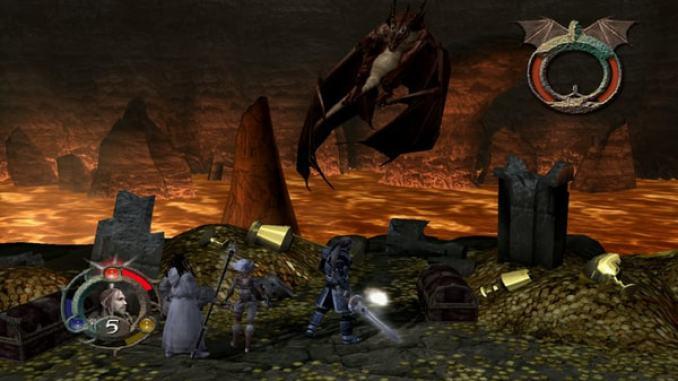 Forgotten Realms: Demon Stone screenshot 1