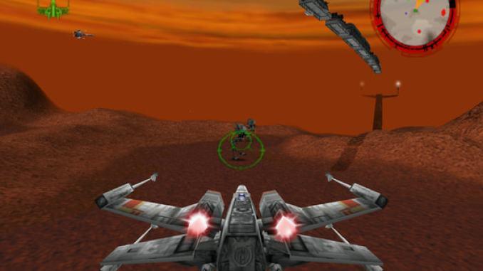 STAR WARS: Rogue Squadron 3D screenshot 1