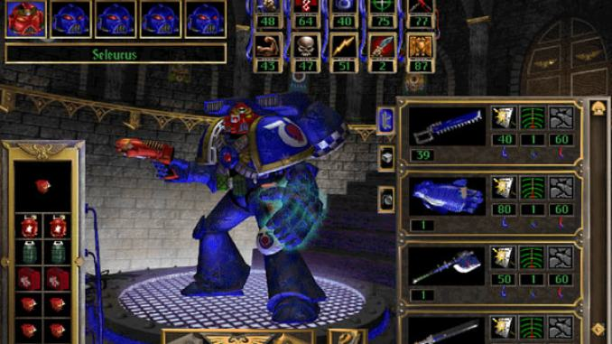 Warhammer 40,000: Chaos Gate Screenshot 2