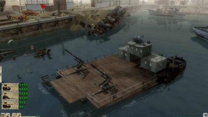 Men of War: Red Tide screenshot 2