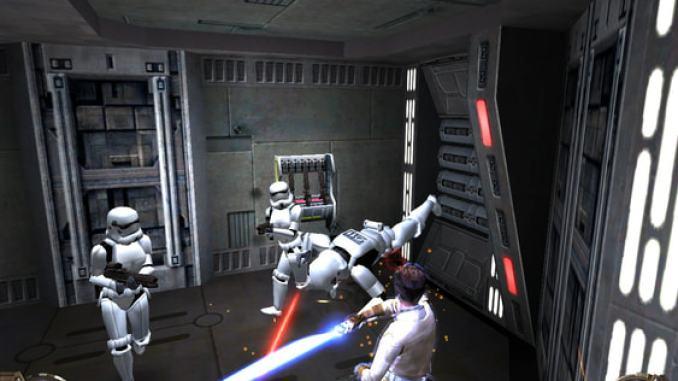 Star Wars: Jedi Knight II - Jedi Outcast screenshot 1
