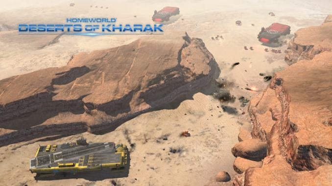 Homeworld: Deserts of Kharak screenshot 2