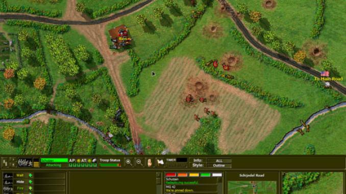 Close Combat 2: A Bridge Too Far screenshot 1
