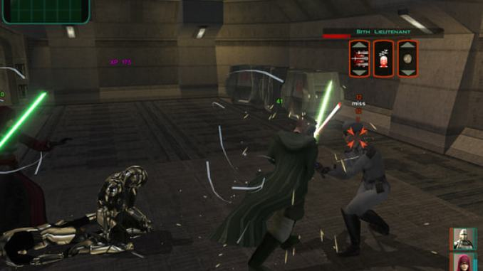 Star Wars Knights of the Old Republic II: The Sith Lords screenshot 2