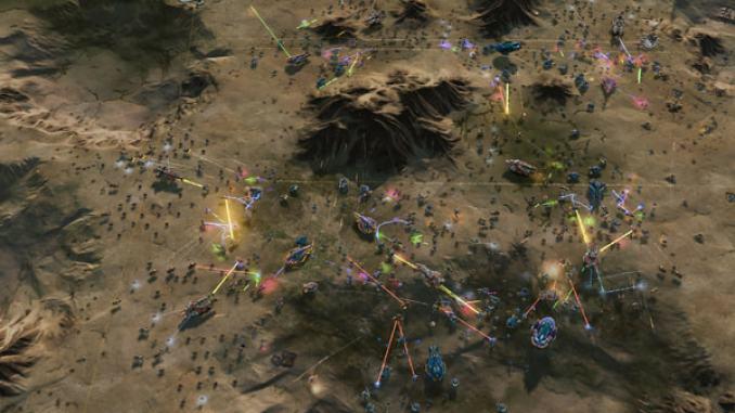 Ashes of the Singularity - Overlord Scenario Bonus DLC screenshot 1