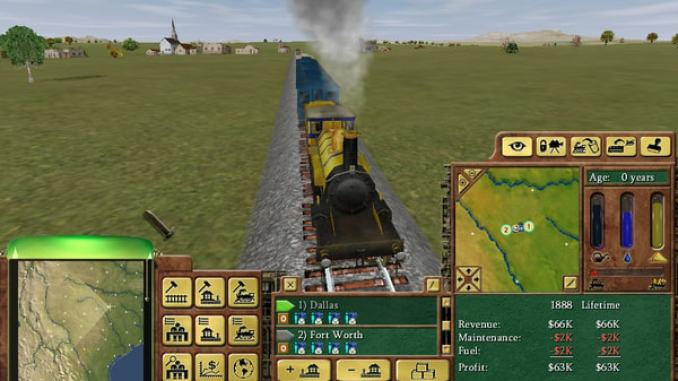 Railroad Tycoon 3 screenshot 3