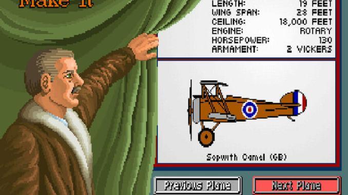 Knights of the Sky screenshot 1