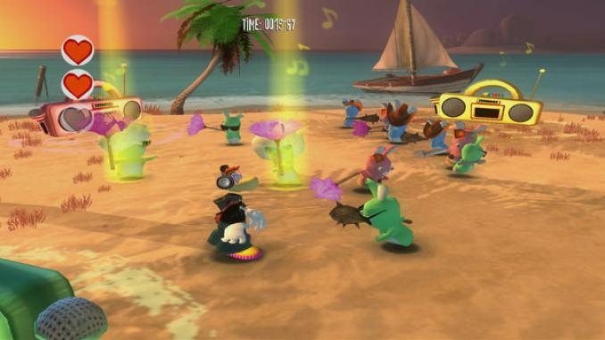 Rayman Raving Rabbids screenshot 3