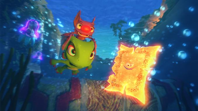 Yooka-Laylee screenshot 2