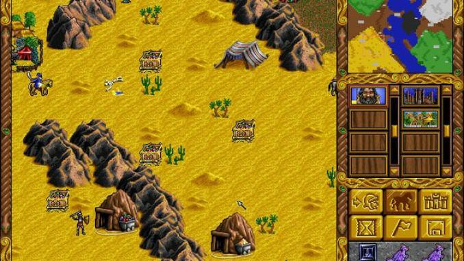 Heroes of Might and Magic screenshot 2