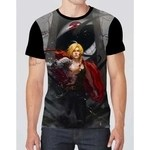Camiseta camisa fullmetal alchemist brotherhood anime hd 03