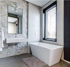 Douche italienne salle de bains