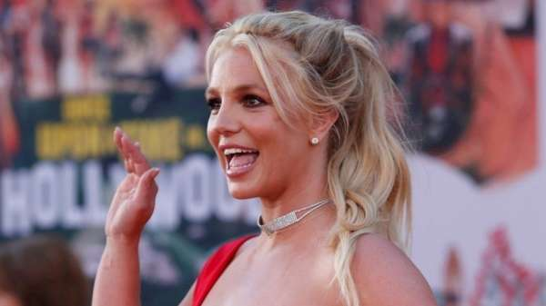 American pop singer Britney Spears