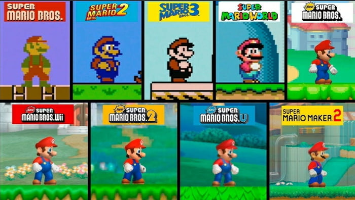 Happy 35th Birthday To The Super Mario Franchise 9gag
