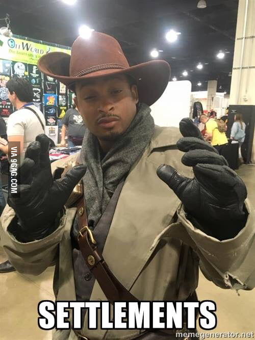 Top Notch Preston Garvey Cosplay 9GAG