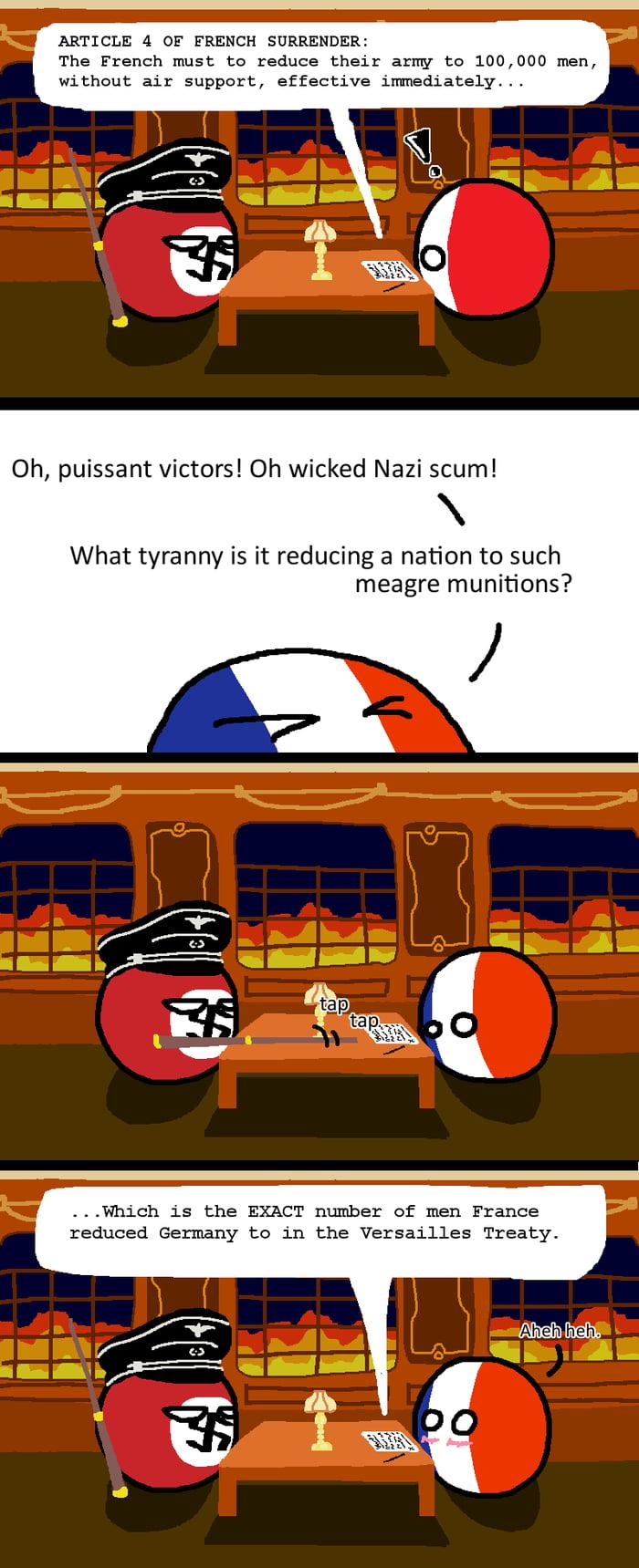 France Knows Where To Get Trusty Unbiased Advice Polandball
