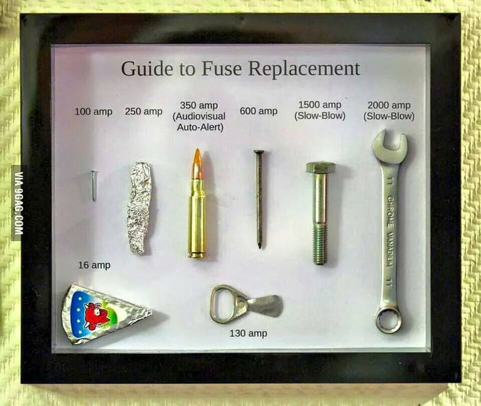 Dont Forget Though That If The Application Truly Requires A Fuse You Should Use The Proper Rated Fuse